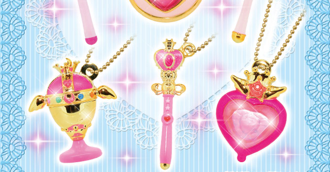 Sailor Moon Die-cast Charms Gashapon Set 2 from Bandai