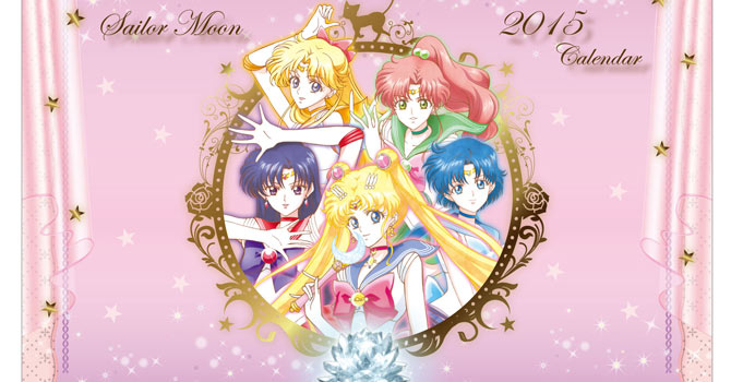 Sailor Moon Crystal Calendars 2015: Desktop & Poster Version