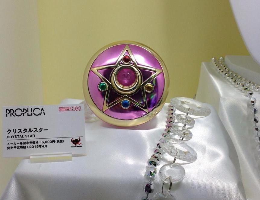 """sailor moon"" ""sailor moon compact"" ""sailor moon toys"" ""sailor moon merchandise"" ""crystal star compact"" ""sailor moon locket"" proplica ""tamashii nations"" bandai shop japan anime"