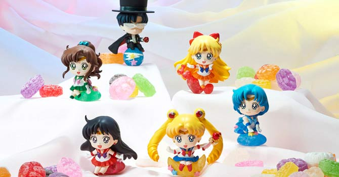 Sailor Moon Petit Chara Land Candy Figures by Megahouse