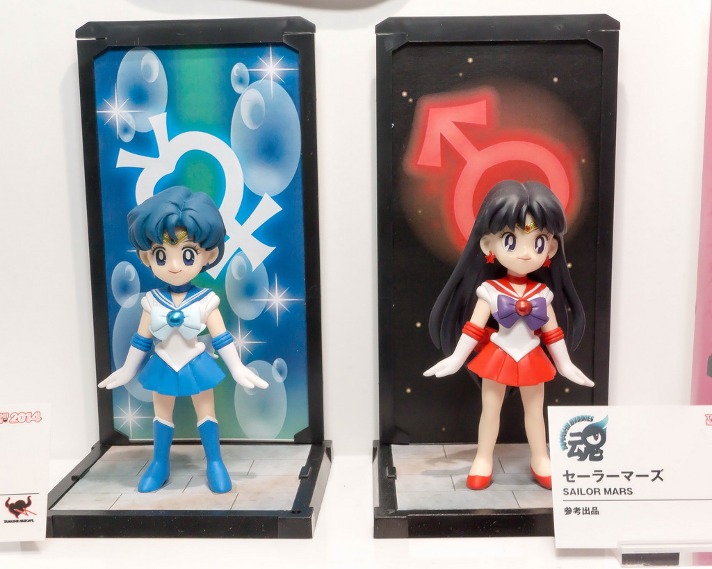 """sailor moon"" ""sailor moon merchandise"" ""sailor moon figures"" ""sailor moon 2015"" ""sailor moon toys"" ""sailor mercury"" ""sailor mars"" ""tamashii buddies"" ""tamashii nations"" bandai anime figure shop"
