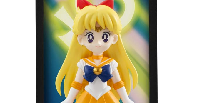 Sailor Venus Tamashii Buddies Figure Shown at NYCC 2014