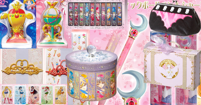 New Sailor Moon Boxes, Trunks, Wand Pens, Magnets, Etc!