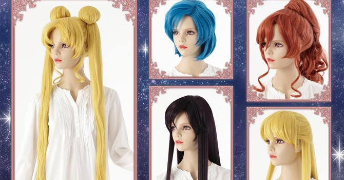 Sailor Moon Crystal Premium Character Wigs & Official Costumes