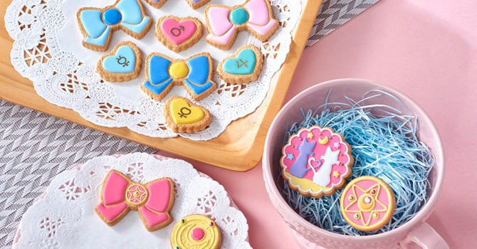 Sailor Moon Cookies Charms from Megahouse