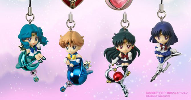 Twinkle Dolly Sailor Moon Charms Set 2