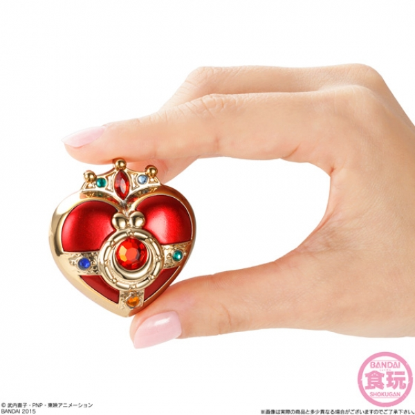 """sailor moon"" ""sailor moon compact"" ""sailor moon toys"" ""sailor moon merchandise"" ""candy toy"" ""luna p"" candy bandai anime shop toy japan"