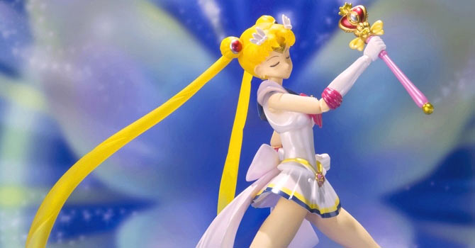 Super Sailor Moon S.H. Figuarts Officially Announced