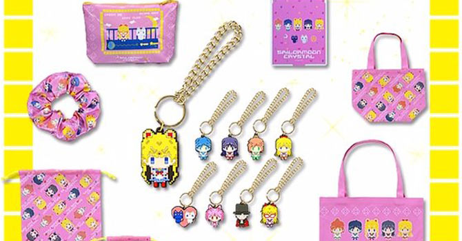 Sailor Moon Crystal 8-bit Pixel Art Merchandise