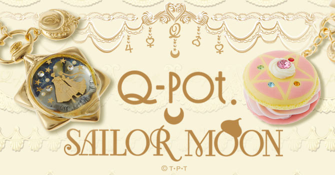 Q-pot. x Sailor Moon Sweets Accessories Collaboration