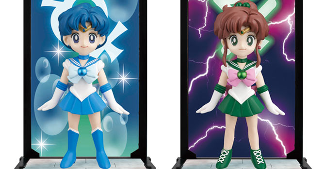 Sailor Mercury & Sailor Jupiter Tamashii Buddies Figures