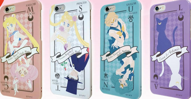 Sailor Moon iPhone 6 Cases & Screen Protectors