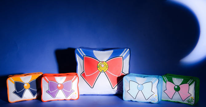 Sailor Moon Pouches from New Monday Magazine