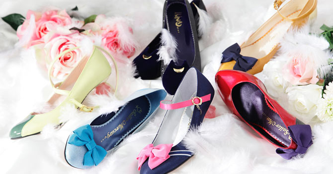 Sailor Moon x Tyake Tyoke Shoes Fashion Collaboration