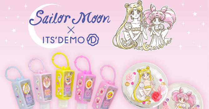 Sailor Moon x ITS DEMO 2nd Collaboration