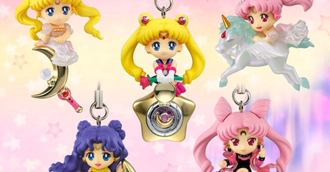 Twinkle Dolly Sailor Moon Candy Toys Set 3
