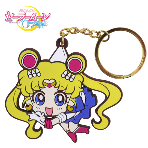 Sailor Moon Crystal Pinched Keychains & StrapsSAILOR MOON