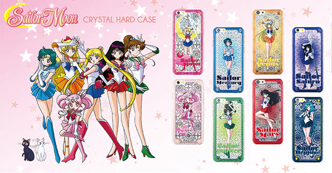 Sailor Moon Crystal Hard Cases from The Hood