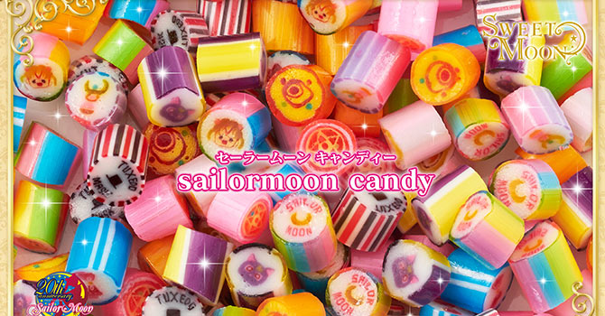 Sailor Moon Sucre Caractere Sweet Moon Candy Chocolates