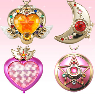 """sailor moon"" ""sailor moon toys"" ""sailor moon merchandise"" ""sailor moon compact"" ""sailor moon candy toy"" eternal compact candy toy anime shop japan chibimoon 2016"