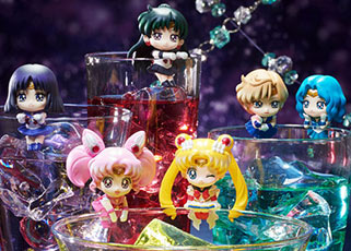 """sailor moon"" ""sailor moon merchandise"" ""sailor moon toys"" ""sailor moon figures"" ""sailor moon collectibles"" megahouse ochatomo ""cosmic heart"" cafe sailor pluto saturn neptune anime japan shop"