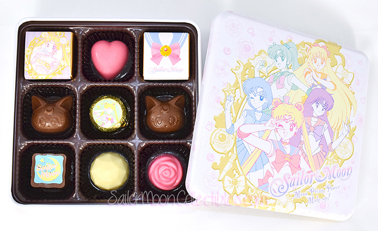 """sailor moon"" ""sailor moon merchandise"" ""sailor moon chocolates"" ""sailor moon candy"" ""sailor moon toy"" luna crystal rose valentine anime japan shop 2015"
