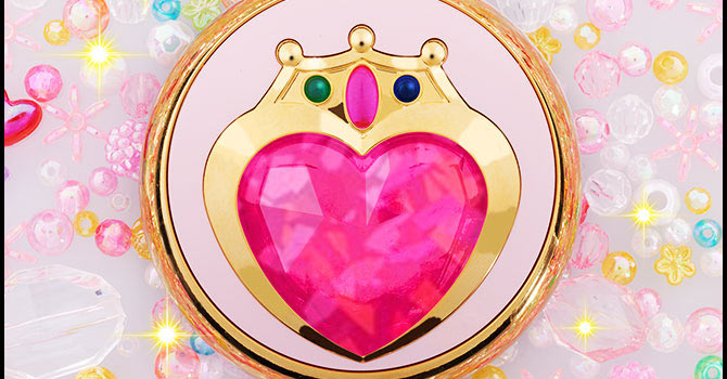 Sailor Chibimoon Prism Heart Compact Moonlight Memory