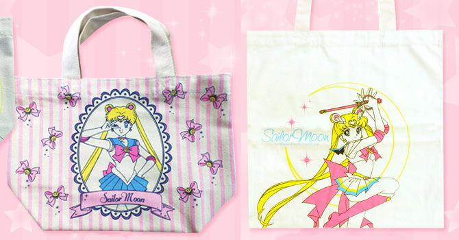 Sailor Moon Eco & Cotton Bags