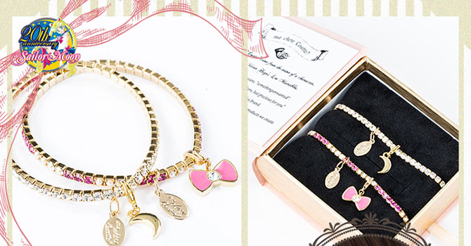 Sailor Moon x ma chére Cosette? Bracelet Set Collaboration