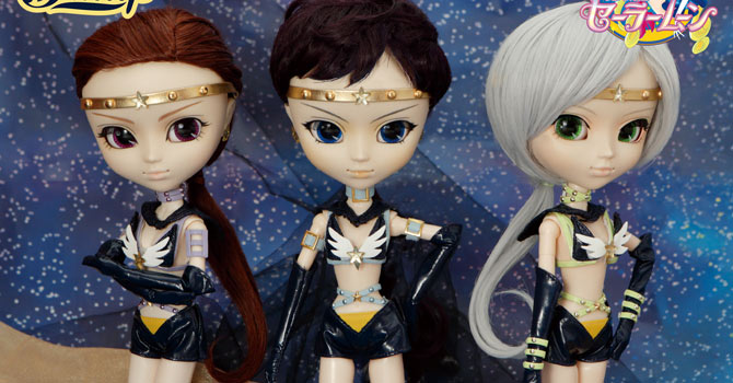 Sailor Starlights Pullip Dolls: Fighter, Healer, Maker