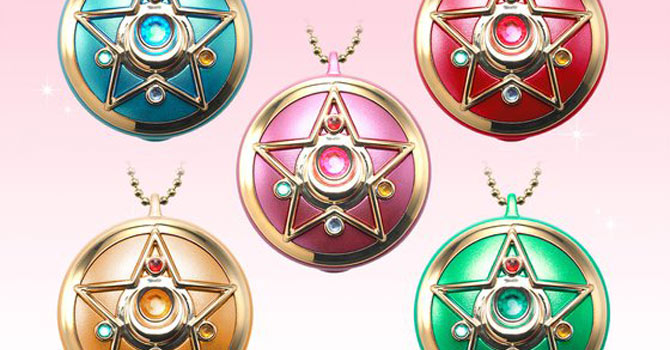 Sailor Moon Miniaturely Tablet Communicator Watch Colour Version
