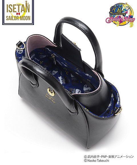 """sailor moon"" ""sailor moon merchandise"" ""sailor moon toys"" ""sailor moon samantha vega"" ""samantha vega"" bag isetan collaboration fashion purse handbag shop 2016 leather luna artemis tote"