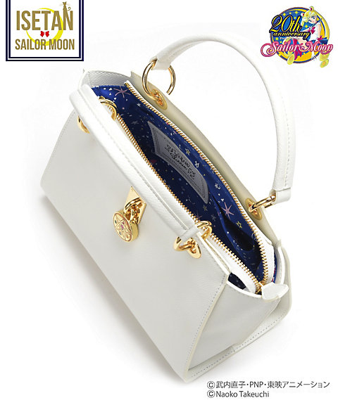 """sailor moon"" ""sailor moon merchandise"" ""sailor moon toys"" ""sailor moon samantha vega"" ""samantha vega"" bag isetan collaboration fashion purse handbag shop 2016 leather ""crystal star"""