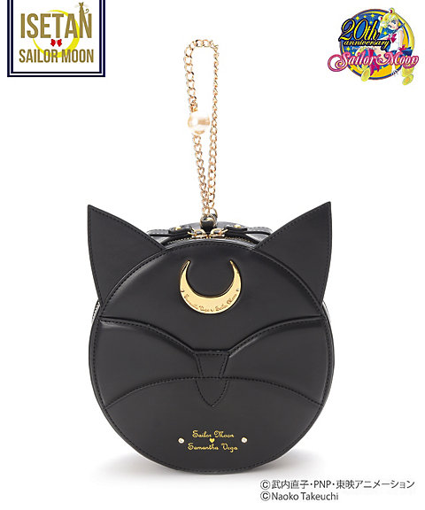 """sailor moon"" ""sailor moon merchandise"" ""sailor moon toys"" ""sailor moon samantha vega"" ""samantha vega"" bag isetan collaboration fashion purse handbag shop 2016 leather ""luna p"" ball chain pearl"