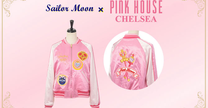 Sailor Moon x Pink House Chelsea Apparel & Accessories