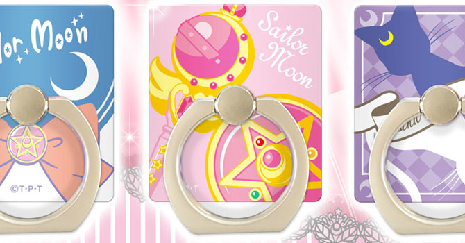 Sailor Moon Character Rings Smartphone Accessory