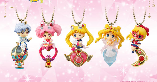 Sailor Moon Twinkle Dolly Set 4 Candy Toys
