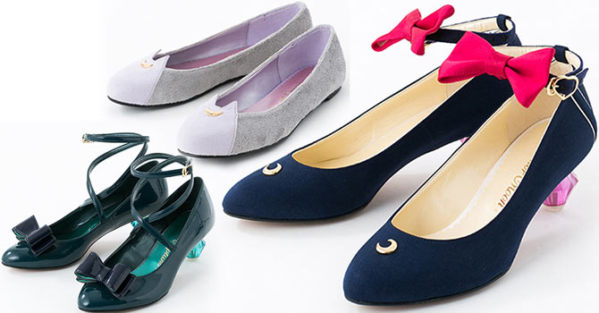 Sailor Moon x Tyake Tyoke Shoes 2nd Collaboration