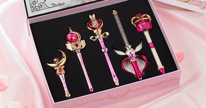 Sailor Moon Stick & Rod ~ Moon Prism Edition ~