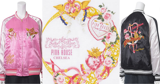Pink House Chelsea x Sailor Moon Collaboration ISETAN ~Moon Celebrate Girls~