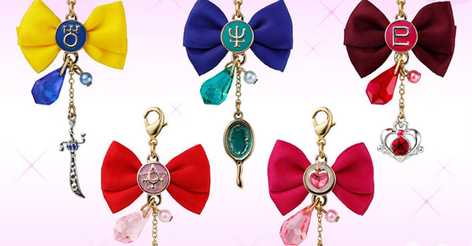 Sailor Moon Ribbon Charm Candy Toys Set 2