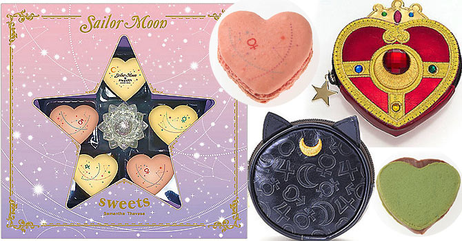 Sailor Moon x Samantha Thavasa Sweets Collaboration ISETAN ~Moon Celebrate Girls~
