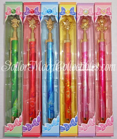 sailor moon wand pens 2013 sailor moon collectiblessailor moon