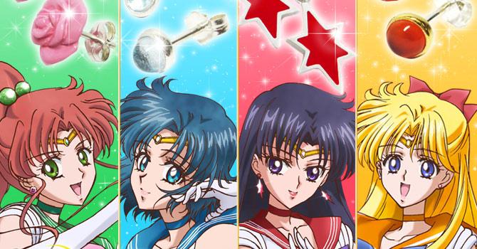PGSM Sailor Mars earrings