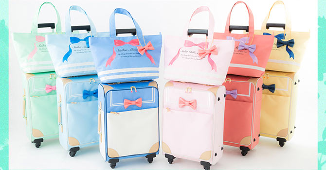 Sailor Moon Travel Carry On Totes Passport Cases