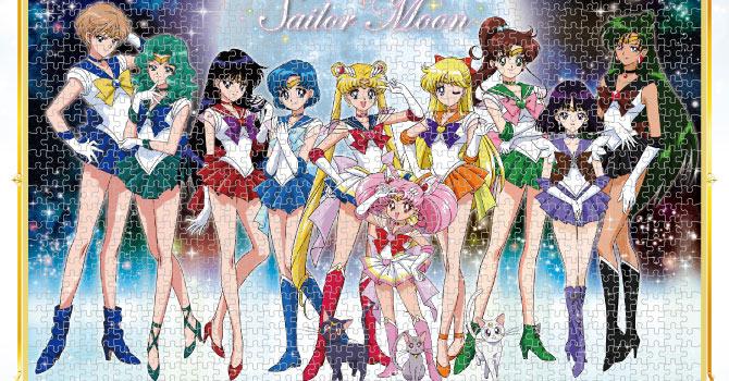 sailor moon sailor senshi 1000 piece jigsaw puzzlesailor