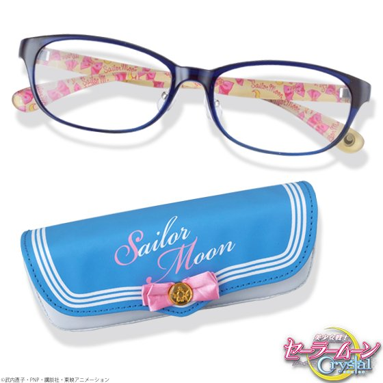 Sailor Moon Crystal Jins Glasses Eyeglasses Collaboration 2016