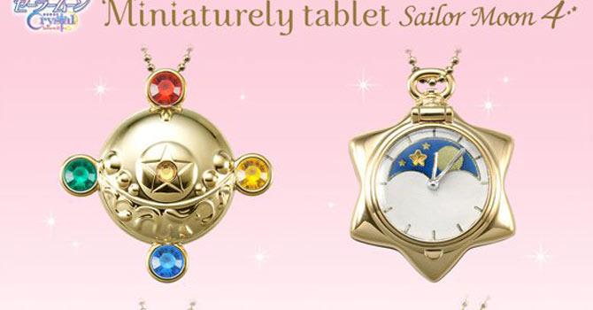 Sailor Moon Miniaturely Tablet Sailor Moon 4 ALL 4 Set SailorMoon from JAPAN